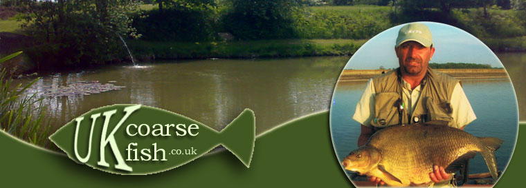 UK coarse fish stock holding pond